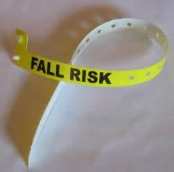 Hospital Fall Risk Bracelets