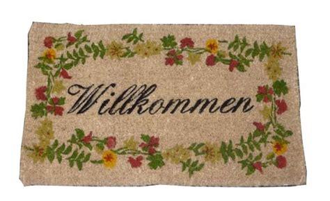 willkommen doormat new overseas traders hsj141 german willkommen doormat