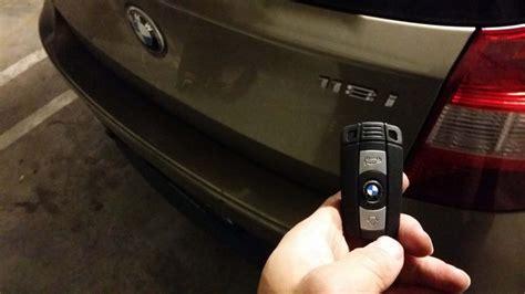 Bmw 118i Car Key Replacement