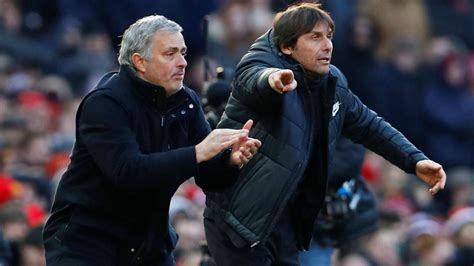 Premier League: Mourinho gushes, Conte fumes after Man Utd ...