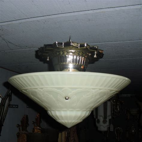 deco flush mount ceiling light fixture from