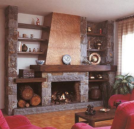 chimenea rustica grande puigmal contemporary fireplaces