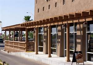 Commercial Wood Awnings