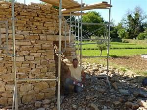Construction En Pierre : construction d 39 une cabane en pierre sche bourdic gard ~ Premium-room.com Idées de Décoration