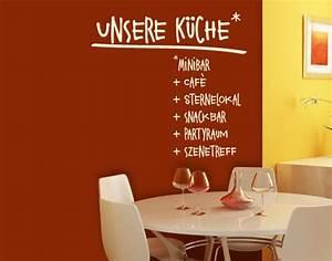 Wandtattoo Sprüche Küche : wandtattoo k che inkl wunschtext wandtattoo f r k che ~ Frokenaadalensverden.com Haus und Dekorationen