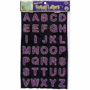 Dritz iron on sequin letters walmartcom for Dritz iron on letters