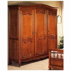 Armoire En Solde : armoire r gence 405 en merisier meubles de normandie ~ Teatrodelosmanantiales.com Idées de Décoration