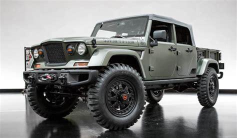 new jeep truck concept future trucks suvs