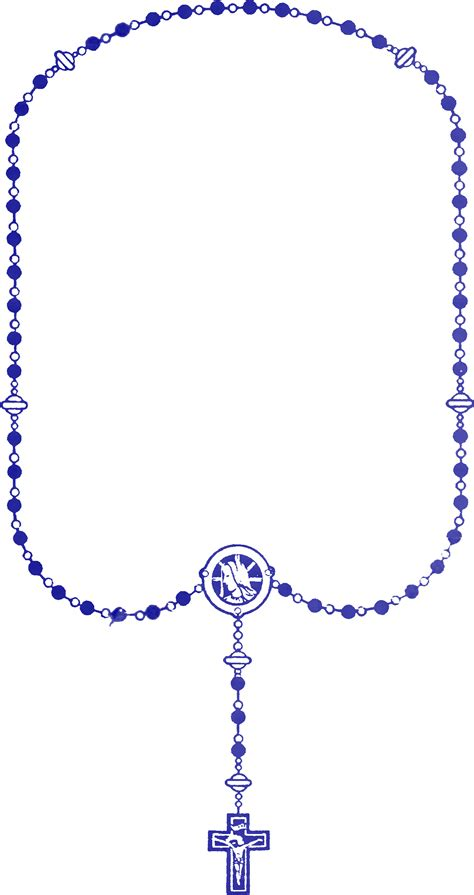 Rosary Clipart File Rosary Blue Png Wikimedia Commons