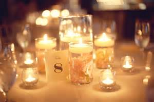 candles wedding wedding reception table hurricane vases candles onewed
