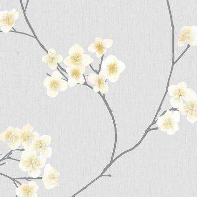 Grey - Wallpaper - Decor - The Home Depot