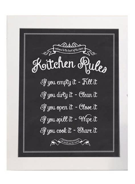Kitchen Regulations by Best 25 Kitchen Ideas On Kitchen Signs