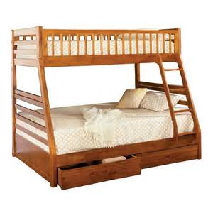twin over full bunk bed space saving design from sears