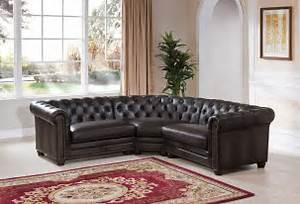 Madison grey leather 3 piece sectional sofa from amax for 8 piece leather sectional sofa