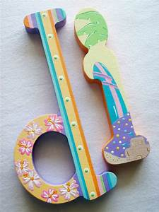 60 best images about painted letters on pinterest wooden With letters to paint on wood