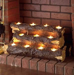 how to arrange fake logs in gas fireplace home design ideas With kitchen cabinets lowes with fireplace log candle holder