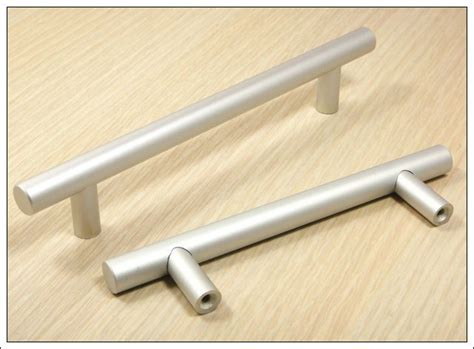 kitchen cabinet bar handles 10pcs furniture hardware solid aluminum kitchen t bar 5154