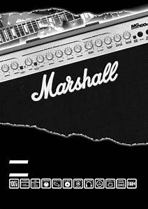 Marshall Amplification Stereo Amplifier Mg100dfx User