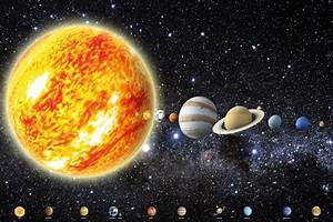Solar System Planets Stars Galaxy Universe Space Wallpaper ...