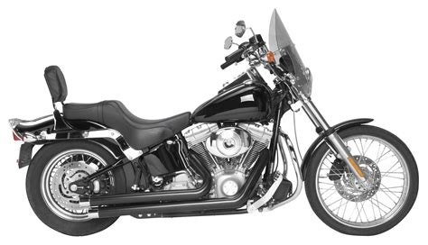 Rush Crossover Series Exhaust System For Harley Softail