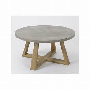 Table Basse En Beton : table en beton comment faire ~ Teatrodelosmanantiales.com Idées de Décoration