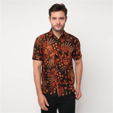 jual batik pria lengan pendek bahan katun di lapak kemeja batik batikcirebon