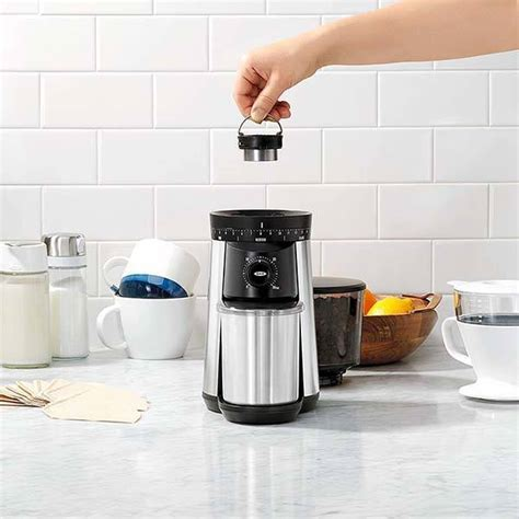 OXO Conical Burr Electric Coffee Grinder   Gadgetsin