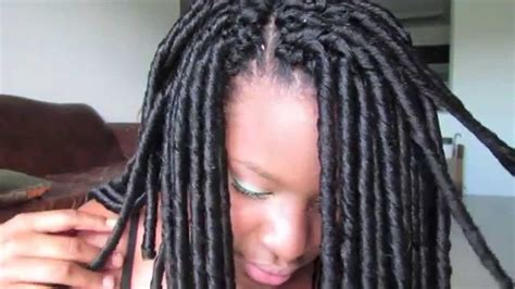 Faux Loc/faux Dread Crochet Braid Tutorial!