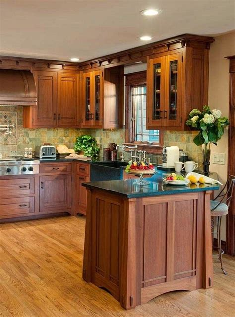 colours for kitchen cabinets best 25 mission style kitchens ideas on 5595