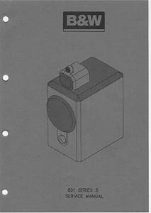 Bowers  U0026 Wilkins B U0026w-801-s3 Matrix   Service Manual