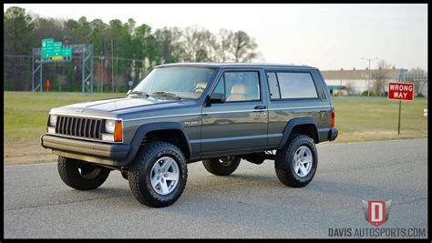 lifted xj for sale xj for sale sport davis autosports