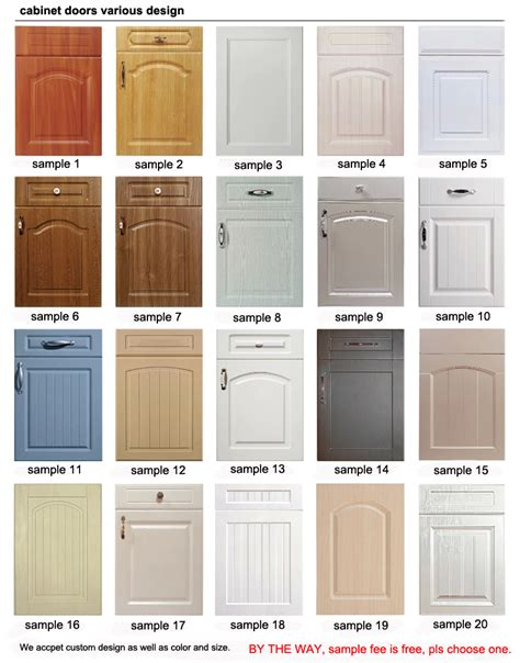 Foil Wrapped Cabinet Doors pvc foil wrapped kitchen mdf cabinet doors buy mdf