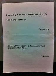 Funny Coffee Machine