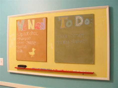 Color Chalkboard Paint : Black Or Colored Chalkboard Paint