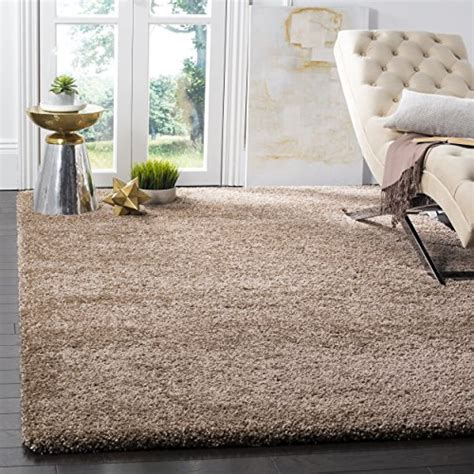 Safavieh Shag Collection by Safavieh Milan Shag Collection Sg180 1414 Beige Area
