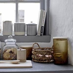 Glasgefäß Mit Deckel : bloomingville geriffeltes glasgef mit deckel braun kaufen amara ~ Eleganceandgraceweddings.com Haus und Dekorationen