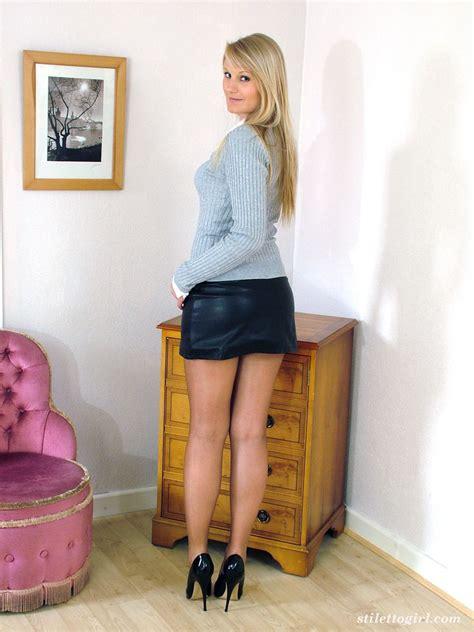 Black High Heels Stiletto Girl 16 Pics
