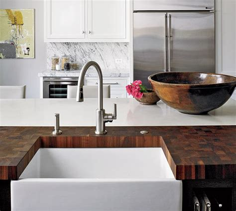 butcher block countertops pros and cons wood countertops pros and cons chicago magazine