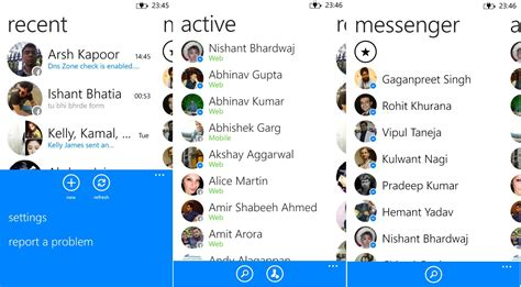 is ending support for its messenger app in versions of windows and windows phone