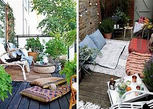Table Pour Petit Balcon : petit balcon quelques id es pour l 39 am nager blueberry home ~ Melissatoandfro.com Idées de Décoration