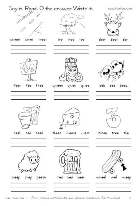 fonix book 4 vowel digraph worksheets vowel