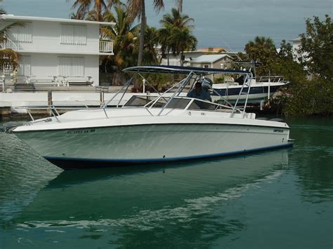 Contender Boats Islamorada by 1998 35 Contender Side Console The Hull Boating