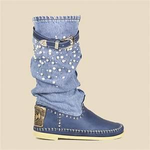 Jeans Mit Strass Und Perlen : hector stiefel mit perlen und swarovski typ jeans ~ Frokenaadalensverden.com Haus und Dekorationen