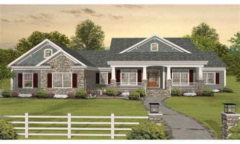 one home plans craftsman one ranch house plans craftsman one