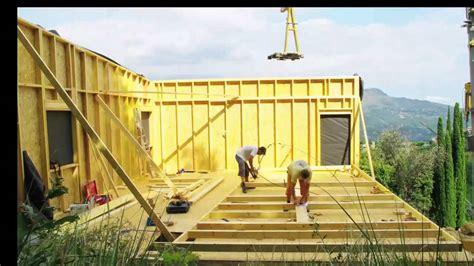 simple attachante construire une maison maison ossature