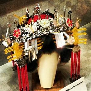 Japanese hair ornaments at Geisha Hair Museum, Kyoto ...