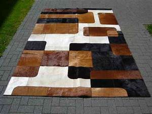Kuhfell Teppich Patchwork Cowhide Rug Casa 99 EBay