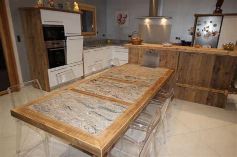 table granit  bois le blog sagne cuisines