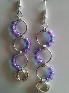 Captured Eternity Earrings Instructions