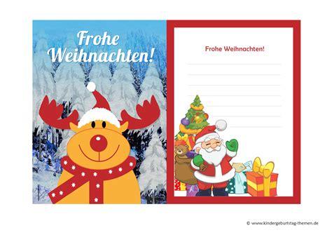 weihnachtskarten vorlagen kostenlos weihnachtskarten basteln mit kindern kostenlose vorlagen zum ausdrucken und ideen